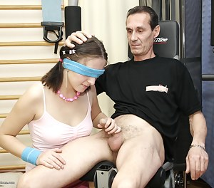 Young Blindfold Porn Pictures